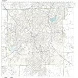 Map Of Pasco County Florida.Amazon Com Pasco County Florida Fl Zip Code Map Not Laminated