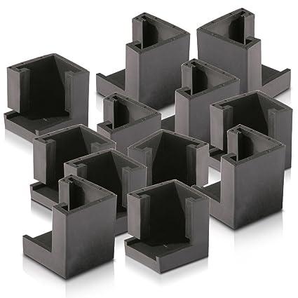 Miadomodo - Juego de 12 piezas de conteras para mesa y silla: Amazon ...