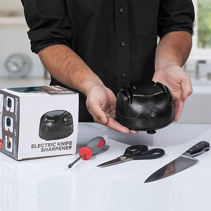 LXDDB Afilador de Cuchillos eléctrico Tool 3-In-1 - Máquina ...