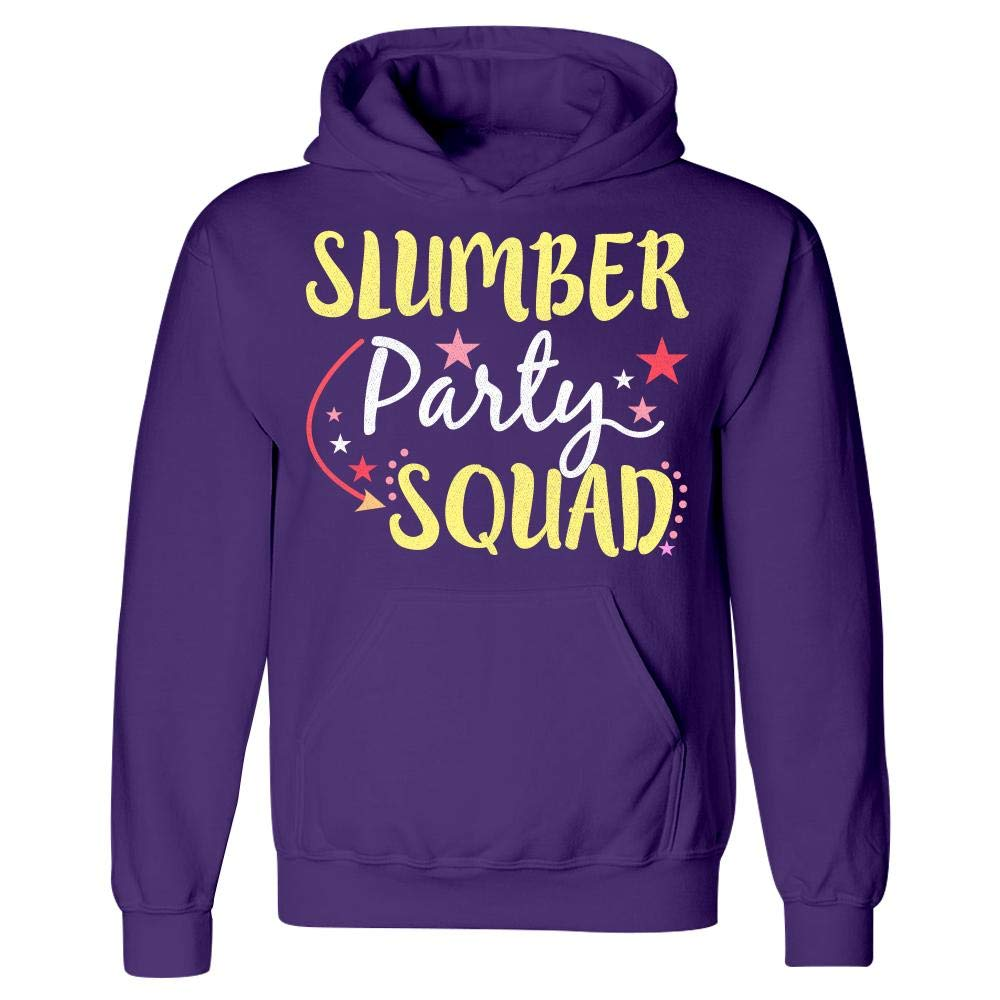 Ginial Wear Funny Slumber Party Squad Hoodie