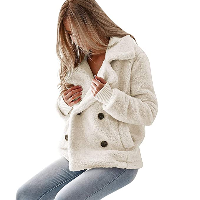 Luckycat Chaqueta cálido Casual de Las Mujeres de Invierno Outerwear Parkas Abrigo Larga de Mujer Talla