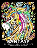 Fantasy Coloring Books for Adults: Stress-relief Coloring Book For Grown-ups
