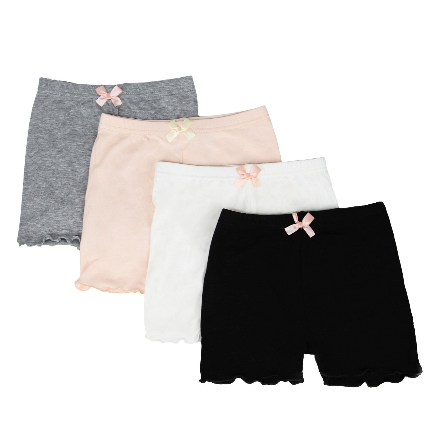 FreeNFond Dance Shorts Girls Bike Short for Gymnastics Under Skirt
