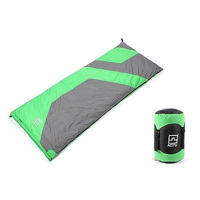 À l'extérieur Enveloppe Double Sacs de couchage Ultra léger Vers le bas 1500 grammes -25 degrés Automne et hiver Camping
