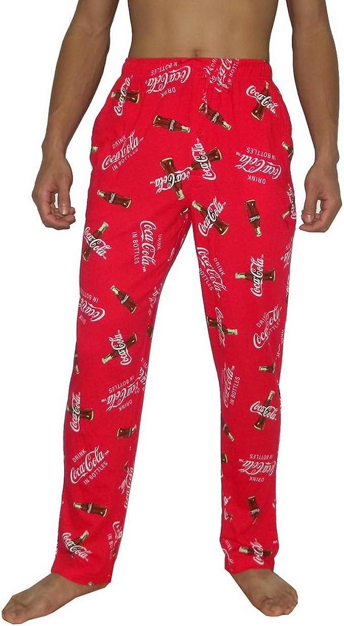 Red /& White Pajama Sleep Pants 40-42 XL 32-34 NEW Mens Coca Cola Size Medium
