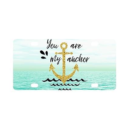 Amazon.com: INTERESTPRINT You are My Anchor Nautical Anchor ...