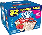 Pop-Tarts Frosted Strawberry toaster pastries are a delicious treat to look forward to. Jump-start your day with a sweet, gooey strawberry-flavored filling encased in a crumbly pastry crust and topped with yummy frosting and colorful rainbow ...
