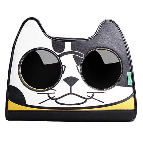 CSDAHombro Mochila Bolsa de portátil Marca Marea Gato explosivos Hombro Mochila Bolsa de Pet Cat,