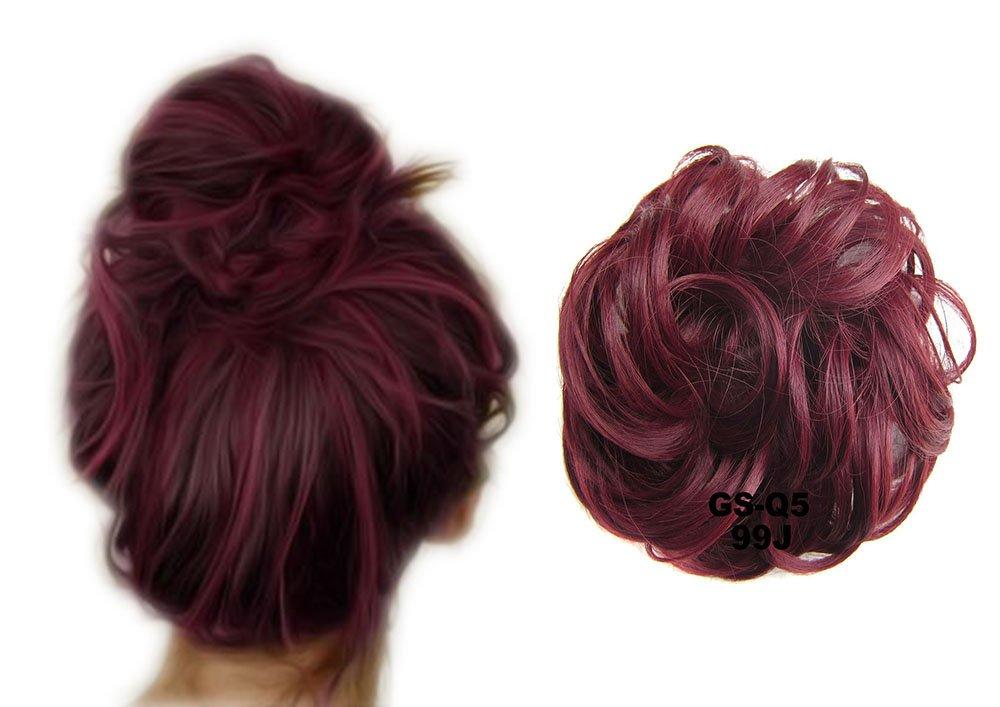 ShowPower Scrunchy Scrunchie pelo Bun Updo extensiones de cabello ...
