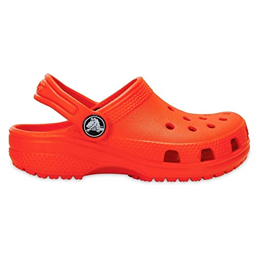 d4b76fdd7c8d6b Crocs Classic Kids Clog Sandals 6 Tangerine  Amazon.co.uk  Shoes   Bags