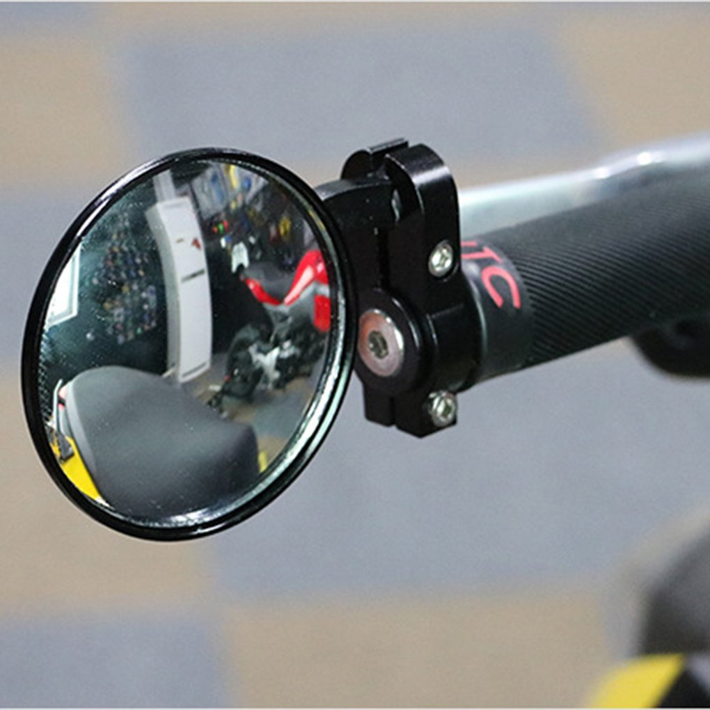 LUFA 2Pcs Retrovisor Volver Espejo Plano Flexible Espejo Retrovisor para Bicicleta