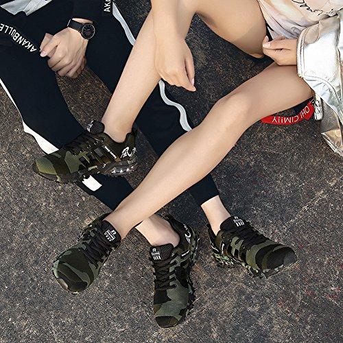 ZXCP 新番 スポーツ軽量 クッション性 カジュアル デイリー トラベルランニングシューズ カジュアル スニーカー通勤 通学 日常着用メンズ レディース