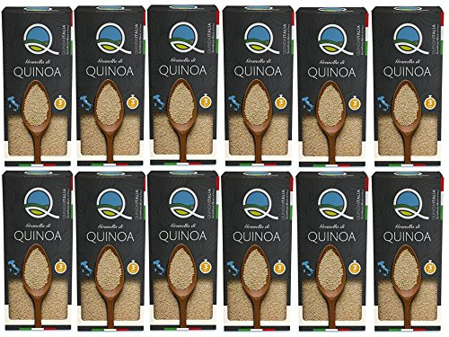 11 opinioni per Quinoa Italia Granella di Quinoa- Pacco da 12 x 1 kg- Totale: 12 kg