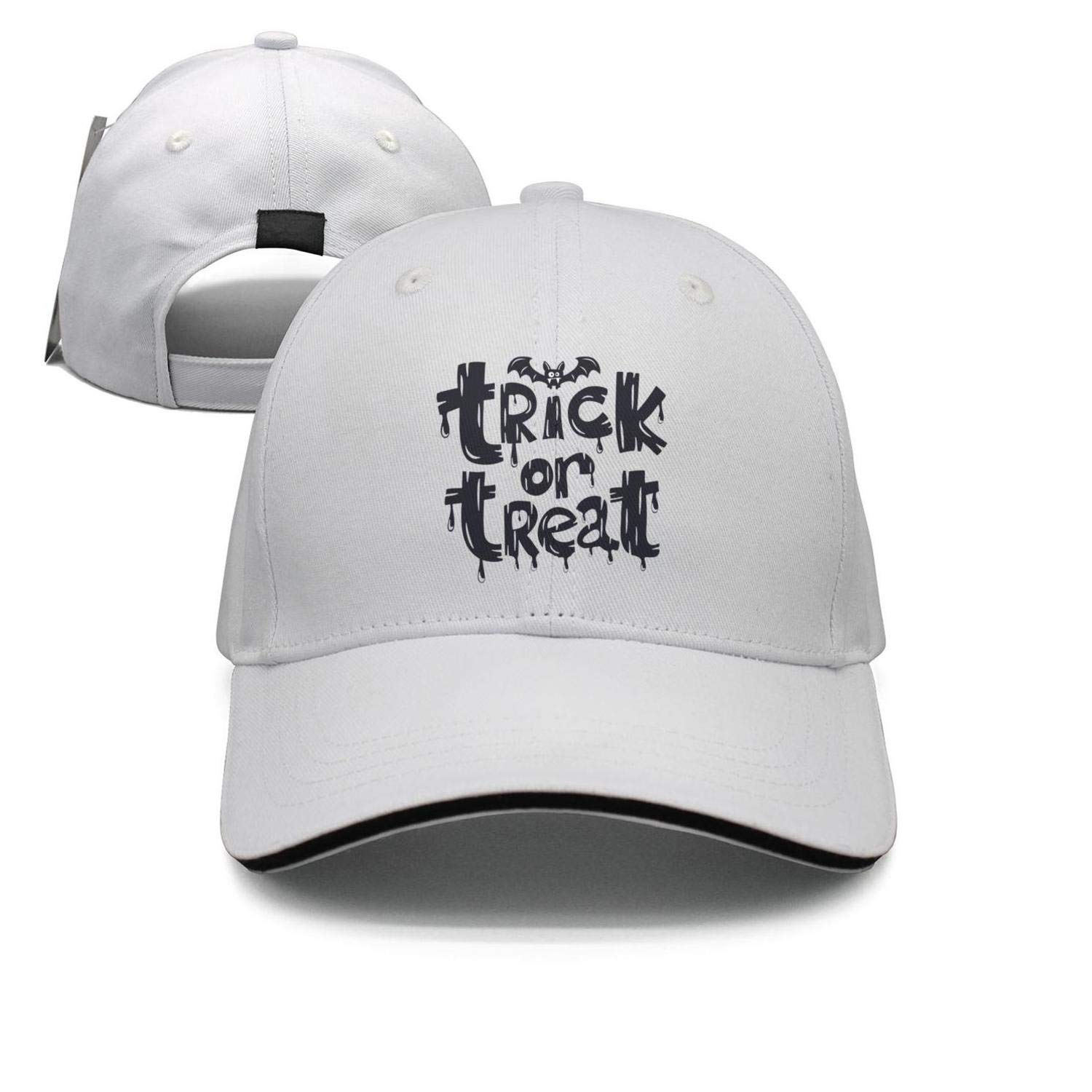 3D rip Zombie Halloween Unisex Snapback Hat Adjustable Sunscreen Cap Rock Punk caps