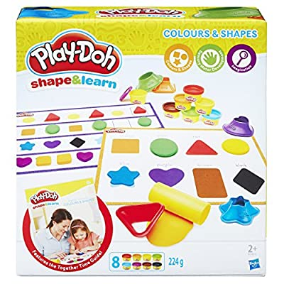 Play-Doh Shape and Learn Colours and Shapes: Toys & Games