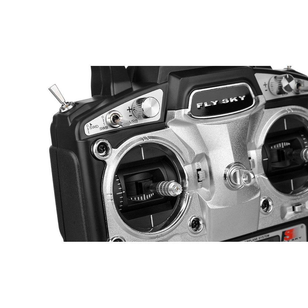 FlySky FS-T6 2.4ghz Digital Proportional 6 Channel Transmitter and Receiver System