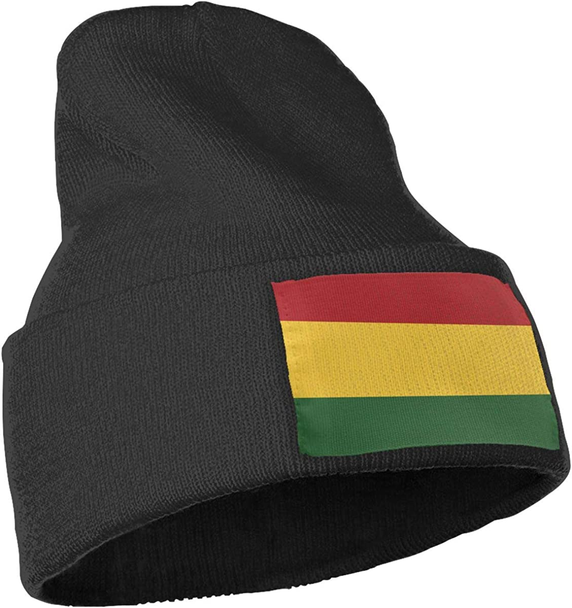 TAOMAP89 Rasta Flag Men /& Women Skull Caps Winter Warm Stretchy Knitting Beanie Hats