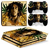 GoldenDeal PS4 Pro Skin and DualShock 4 Skin - Weed 420 - PlayStation 4 Pro Vinyl Sticker for Console and Controller Skin