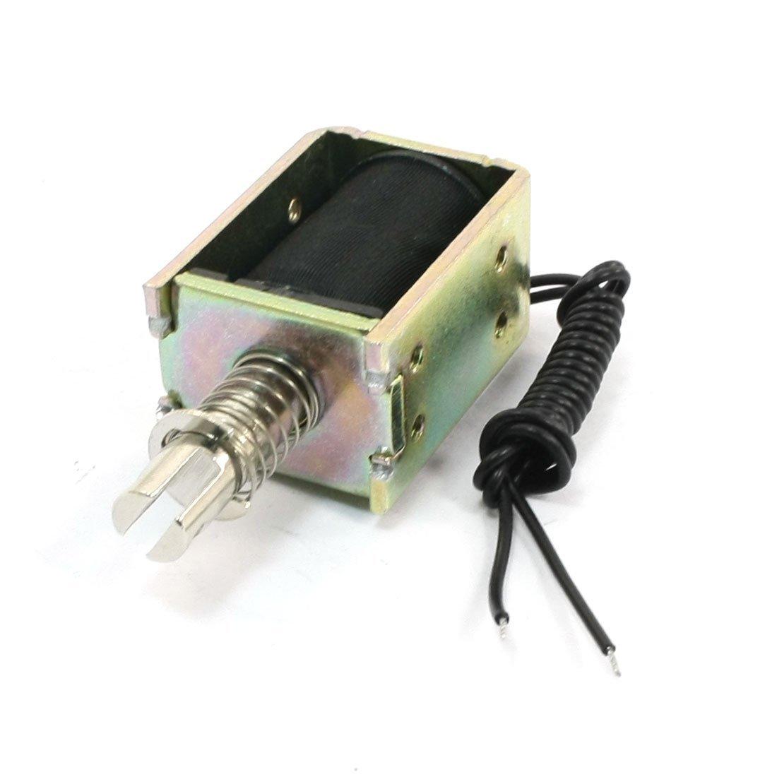 Tire Empuje 6 mm 3 mm 1800gf 1200gf actuador electroimán del solenoide 24 V DC