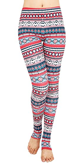spadehill women christmas tree bodycon pants fitted sexy party legging a11 s - Christmas Print Leggings