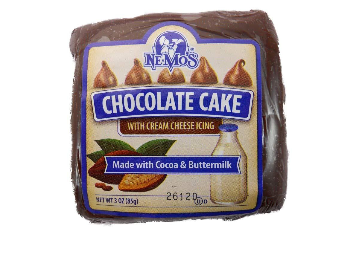Ne Mos Chocolate Cake Square - 6 count per pack
