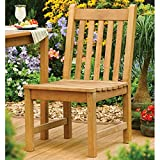 Oxford Garden Classic Shorea Wood Dining Side Chair