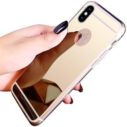 promo code e3ad5 19dc5 Amazon.com: PHEZEN iPhone XR Case,iPhone XR Mirror Case, Luxury ...
