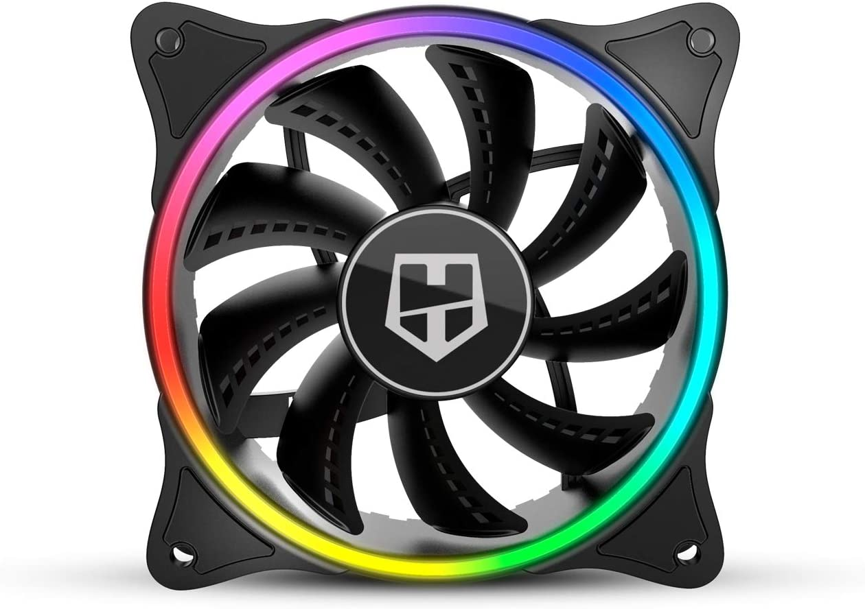Nox X-Fan - NXHUMMERXFAN - Ventilador Fan ARGB HALO Ring Fan