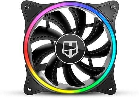 Nox X-Fan - NXHUMMERXFAN - Ventilador Fan ARGB HALO Ring Fan ...