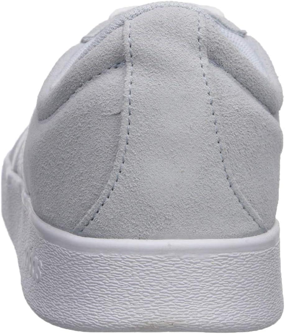 Adidas Vl Court 2.0, Sneakers Skateboard Femme Aero Blue White Light Granite