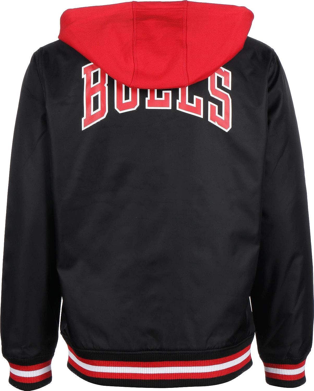 New Era NBA Contrast Chicago Bulls Felpa con Zip  Amazon.it  Abbigliamento 9192186d0824