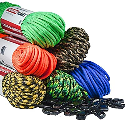 Paracord Planet Type III 7 Strand 550 Paracord - Made in the USA - Largest In Stock Selection of Paracord Colors