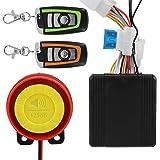 ShinePick Alarma Moto con Mando, Sistema de Alarma Antirrobo ...