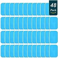 24 zakjes EMS-gelpads 48 stuks gelpads voor EMS-trainer buiktrainer elektrische spierstimulatie, Abs Trainer Reservepad…