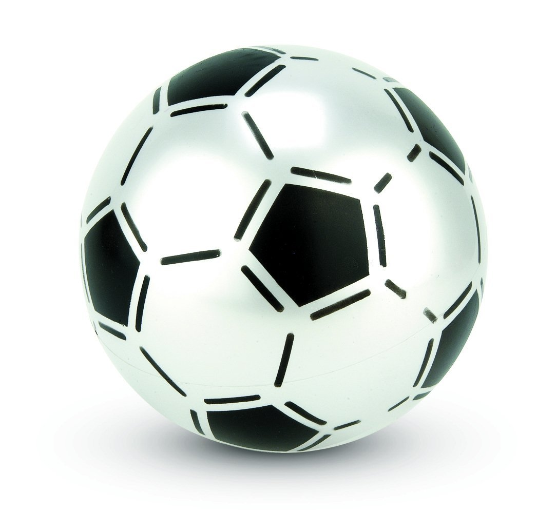 Uninflated Plastic Football 22.5cm, colour varies, one supplied ...