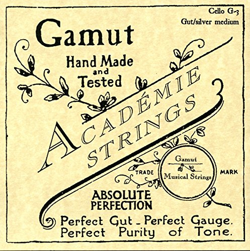 Academie Cello G-3 Gut/Silver Medium Gauge by Academie
