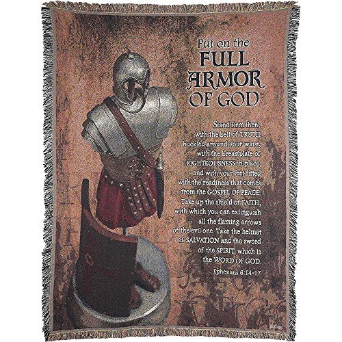 Tapestry Throw - Full Armor of God by Dicksons by Dicksons