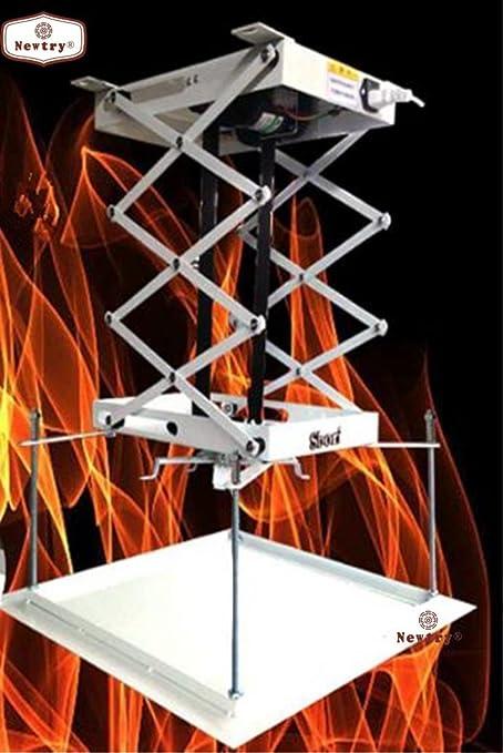 75 cm proyector Soporte para Motor/eléctrico de Techo proyector ...