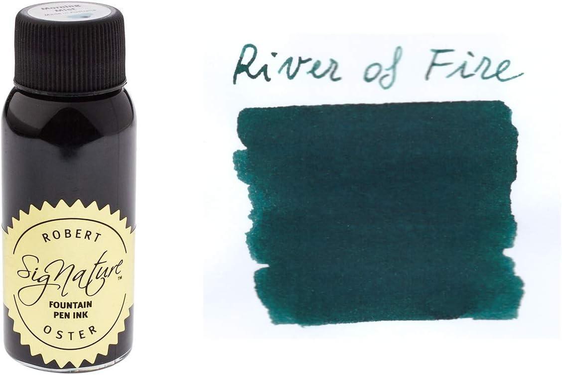Robert Oster River of Fire - Tinta para pluma estilográfica ...
