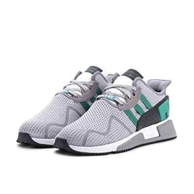 online store 345c9 5d0fd adidas Originals Men's EQT Cushion ADV Grey/Green/White 6 D US
