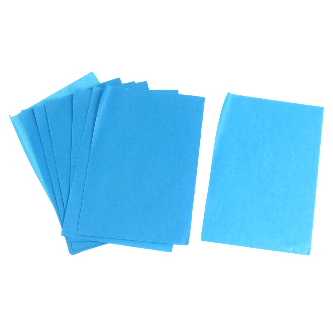 Lady Cosmetic Facial Oil Blotting Paper Sheets 100 Pcs Blue Green BeautyLand a12051500ux0162
