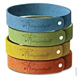 Mosquito Repellent Bracelets 12pcs, 100% All Natural Plant-Based Oil Mosquito Bands, Non-Toxic Travel Insect Repellent, Soft Material For Kids & Adults, Keeps Insects & Bugs Away