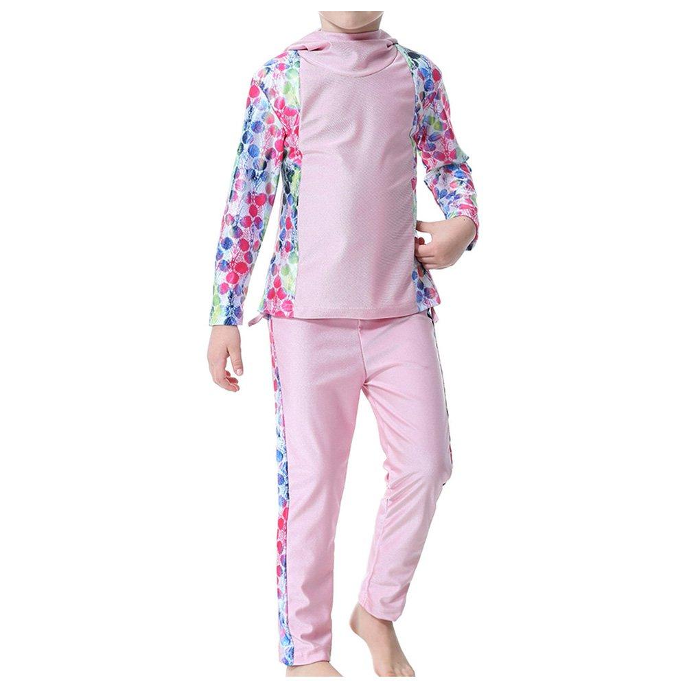 Meijunter Side Printing Kids Girls Islamic Arab Swimwear Turkey Muslim Burkini Ltd.