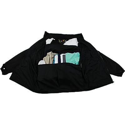 X-Large, Royal Blue Travel Jacket Reversible Carry-On Shoulder Bag Backpack Bag Lightweight