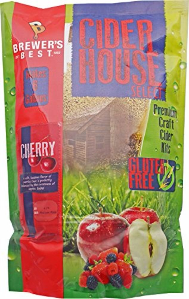 Home Brew Ohio Gluten Free Cider House Select Cherry Cider Kit