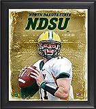 Best Sports Memorabilia Sports Memorabilia Collage Makers - Carson Wentz North Dakota State Bison Framed 15