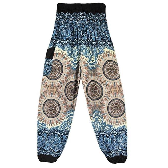 Mujer Pantalones De Yoga Hombres Chic Tailandés India ...