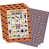 Halloween Bingo Game for Kids - 24 Players