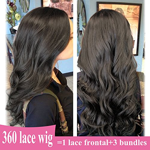 LACE WIG HUMAN HAIR 360 & SILK TOP & FULL LACE