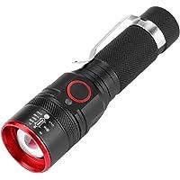 Linterna LED, Mini Impermeable Portátil T6 LED Bolsillo